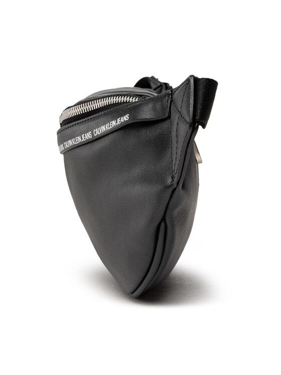 Calvin Klein Jeans Calvin Klein Jeans Saszetka nerka Smooth Logo Tape Waistbag K50K507210 Czarny