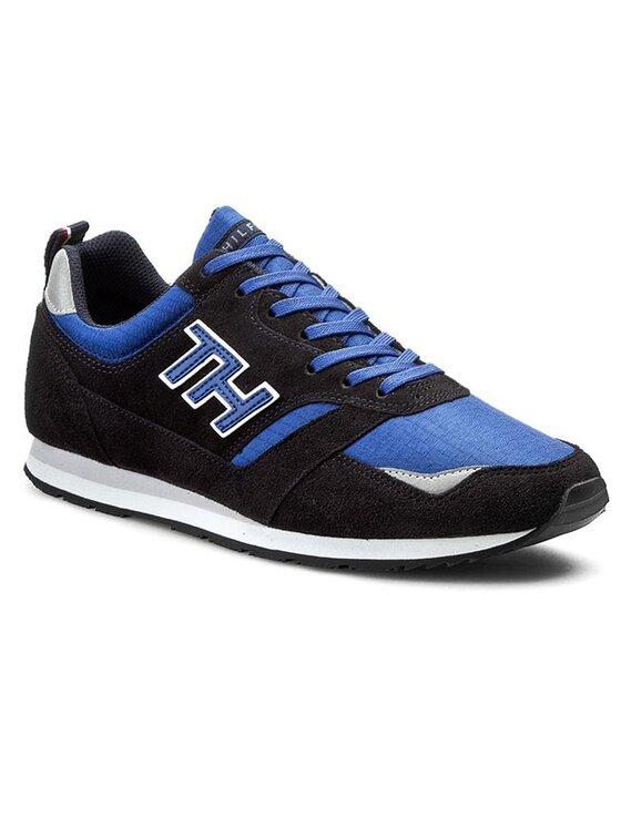 Tommy Hilfiger Tommy Hilfiger Laisvalaikio batai Adan 8C FM56820865 Tamsiai mėlyna