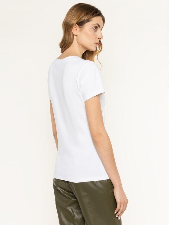 Trussardi Jeans Trussardi Jeans Тишърт 56T00263 Бял Slim Fit