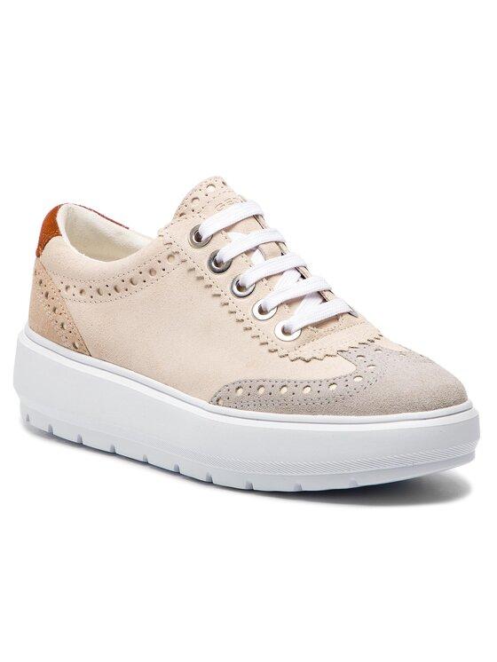 Geox Geox Sneakersy D Kaula A D92ANA 00022 C5K1L Béžová