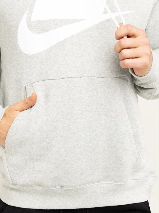 Nike Nike Μπλούζα Nsw BV4540 Γκρι Regular Fit