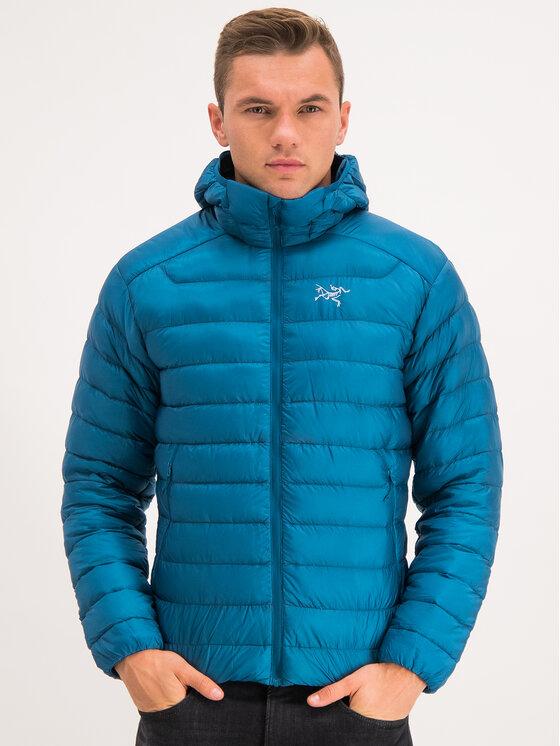 Arc'teryx Arc'teryx Vatovaná bunda Cerium LT Hoody 18013 Modrá Slim Fit
