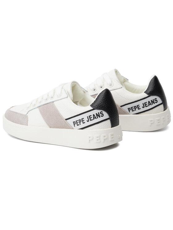 Pepe Jeans Pepe Jeans Сникърси Brixton Tape PLS30891 Бял