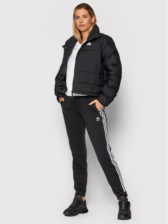 adidas adidas Pernata jakna Helionic FT2563 Crna Relaxed Fit