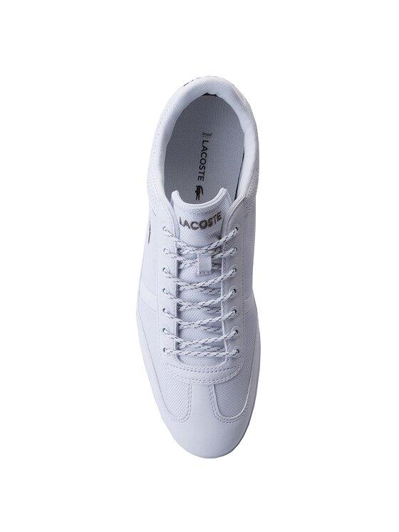 Lacoste Lacoste Sneakersy Milano Sport 218 1 Cam 7-35CAM008421G Biela