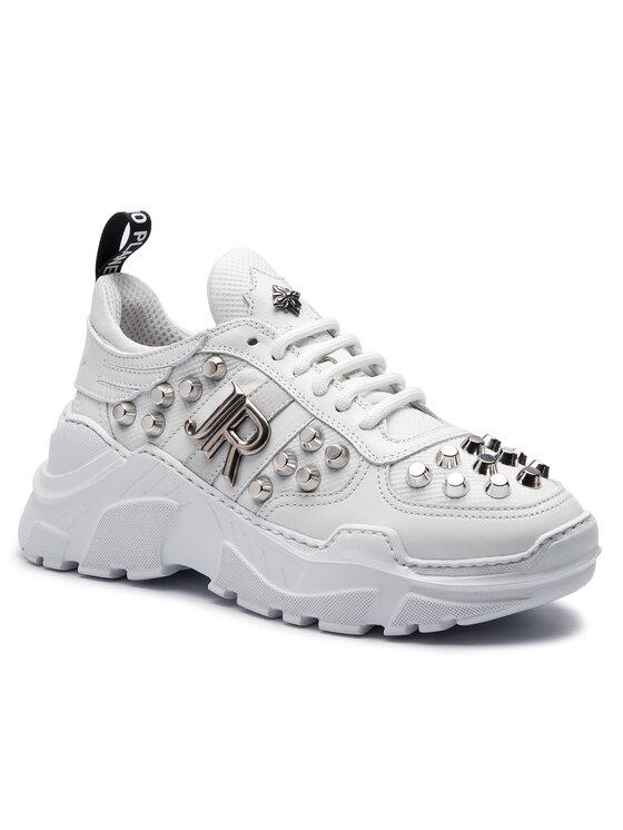 John Richmond John Richmond Sneakersy 7113 B Bílá