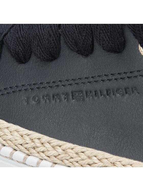 TOMMY HILFIGER TOMMY HILFIGER Espadrilles Tommy Jute City Sneaker FW0FW04145 Bleu marine