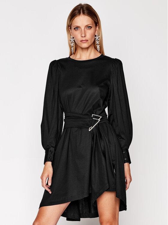 IRO Kasdieninė suknelė Loumos AN151 Juoda Regular Fit
