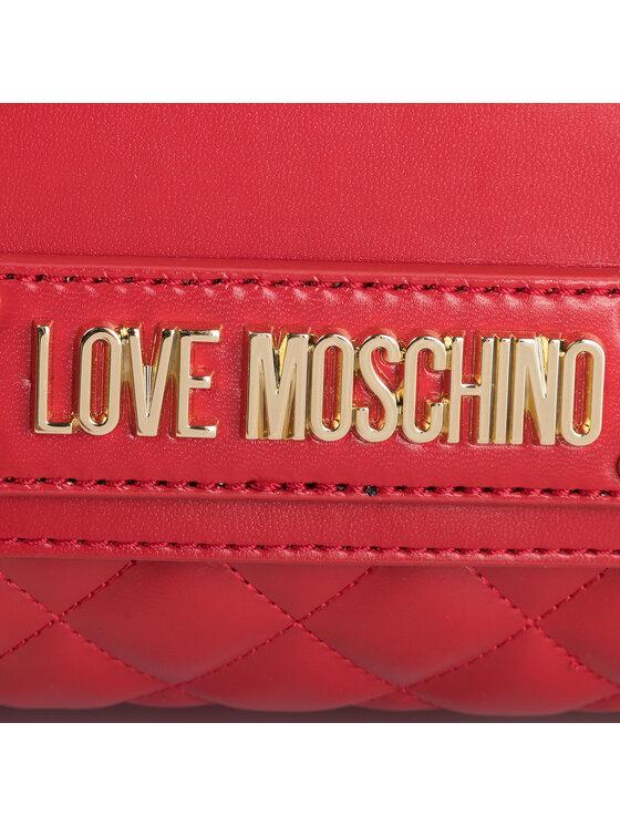 LOVE MOSCHINO LOVE MOSCHINO Plecak JC4007PP18LA0500 Czerwony