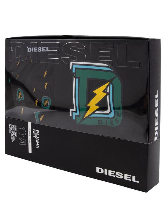 Diesel Diesel Pyžamo Umset Jake Julio 00SGXE 0WAVV Čierna