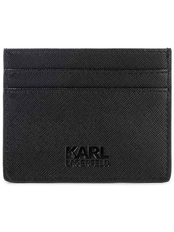 KARL LAGERFELD KARL LAGERFELD Etui na karty kredytowe 805412 592199 Czarny
