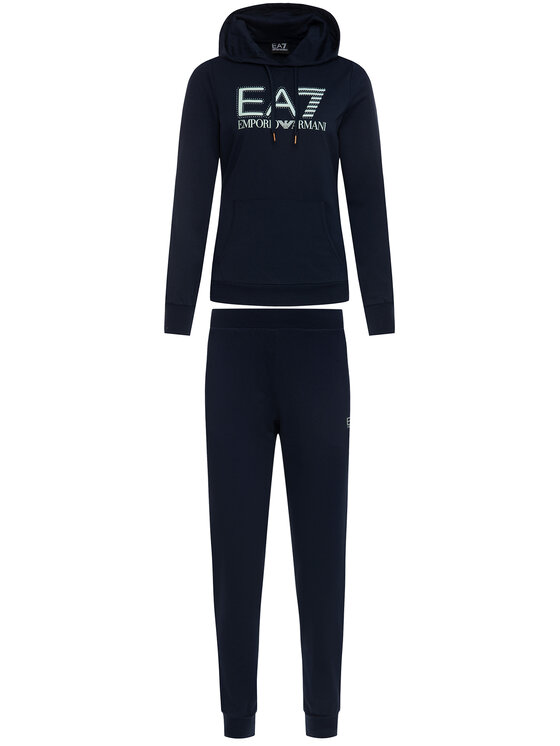 EA7 Emporio Armani EA7 Emporio Armani Анцуг 3HTV71 TJ31Z 1554 Тъмносин Regular Fit