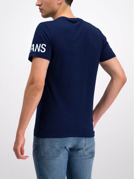Calvin Klein Jeans Calvin Klein Jeans Тишърт J30J312754 Тъмносин Slim Fit
