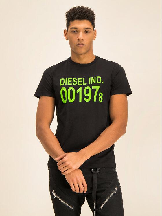 Diesel Diesel T-shirt Diego 00SASA 0AAXJ Noir Regular Fit