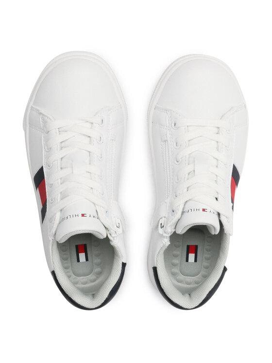 Tommy Hilfiger Tommy Hilfiger Sneakersy Low Cut Lace T3B4-30921-0900 M Biały
