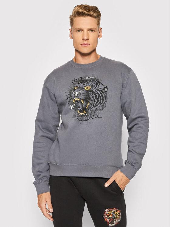 Togoshi Džemperis Wildcat M 3 Pilka Regular Fit