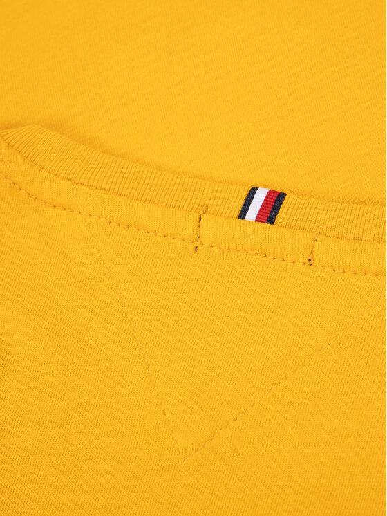 Tommy Hilfiger Tommy Hilfiger Marškinėliai Essential Tee KB0KB05547 M Geltona Regular Fit
