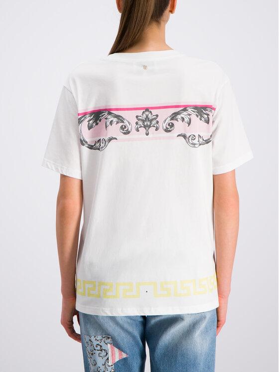 Silvian Heach Silvian Heach T-shirt Ullian CVP19051TS Bianco Regular Fit