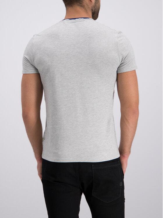 Guess Guess T-shirt M92I24 J1300 Gris Super Slim Fit