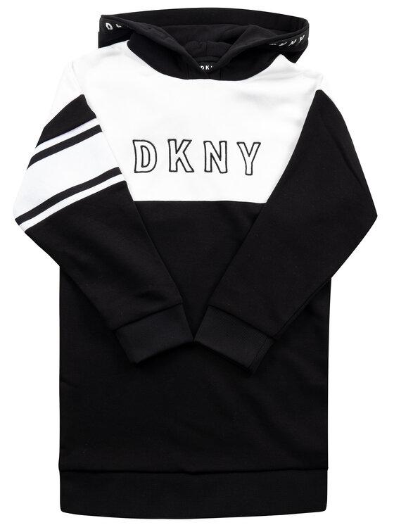 DKNY Džemperis D32718 S Juoda Regular Fit