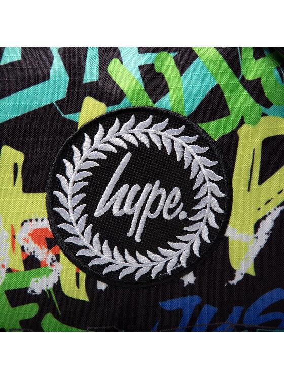 HYPE HYPE Plecak Graffiti Logo BTS21048 Czarny