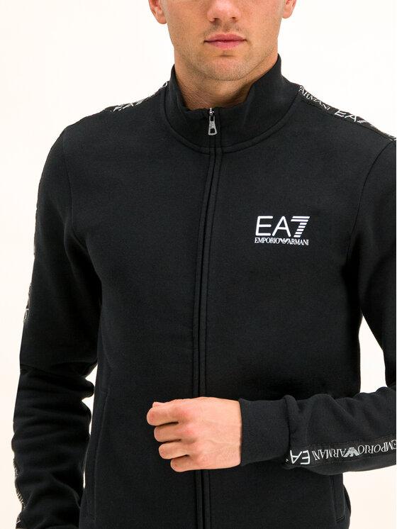 EA7 Emporio Armani EA7 Emporio Armani Mikina 6GPM31 PJ07Z 1200 Černá Regular Fit