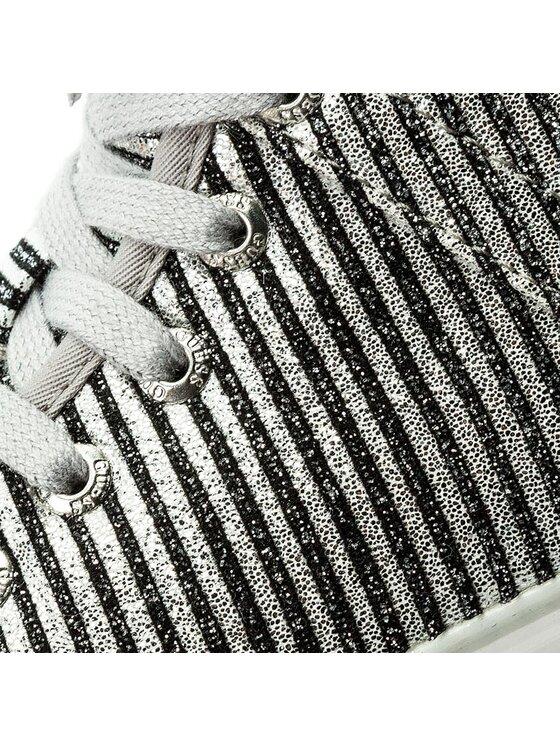 Guess Guess Sneakersy Joel FLJEL3 FAM12 Srebrny