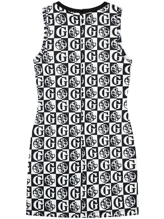 Guess Guess Sukienka codzienna J1YK01 K3PP2 Biały Regular Fit