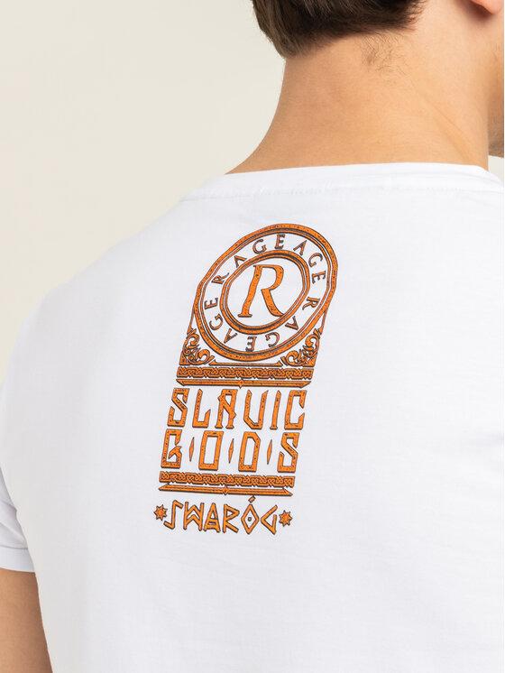 Rage Age Rage Age T-Shirt Swaróg Λευκό Slim Fit