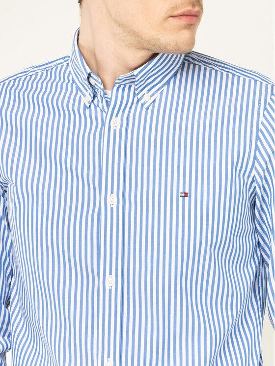 Tommy Hilfiger Tommy Hilfiger Koszula Hyper Classic Stripe MW0MW12209 Kolorowy Slim Fit
