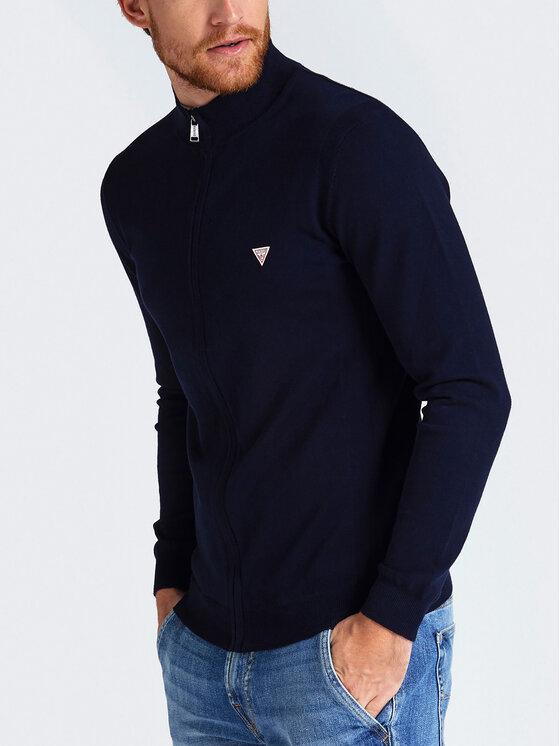 Guess Guess Sweater M93R39 Z0990 Sötétkék Regular Fit