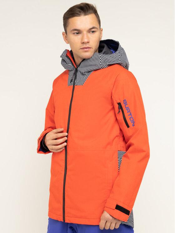 Burton Burton Kurtka snowboardowa Hilltop 13066105600 Czerwony Regular Fit