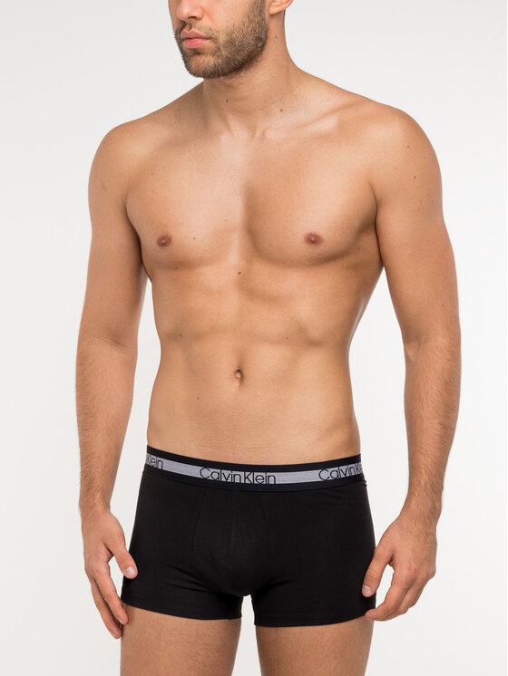 Calvin Klein Underwear Calvin Klein Underwear Komplektas: 3 poros trumpikių 000NB1799A Juoda Regular Fit