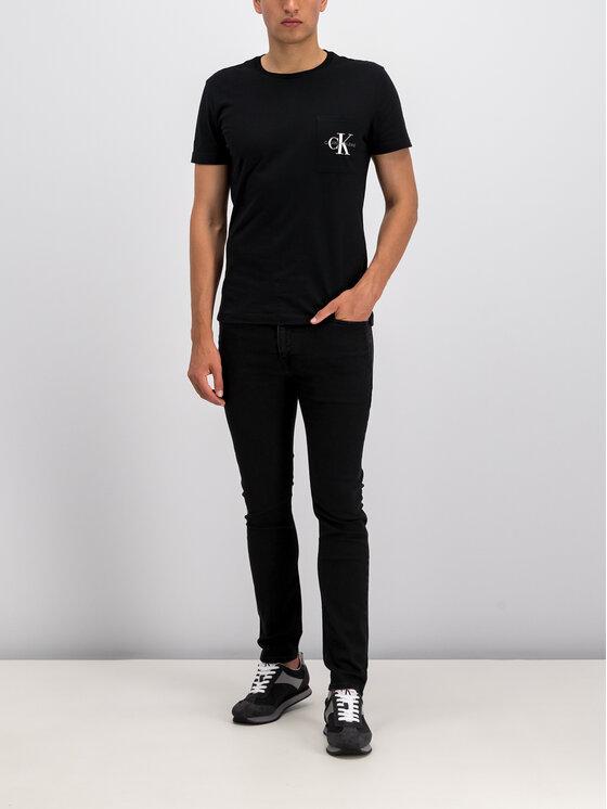 Calvin Klein Jeans Calvin Klein Jeans Τζιν J30J312422 Μαύρο Skinny Fit