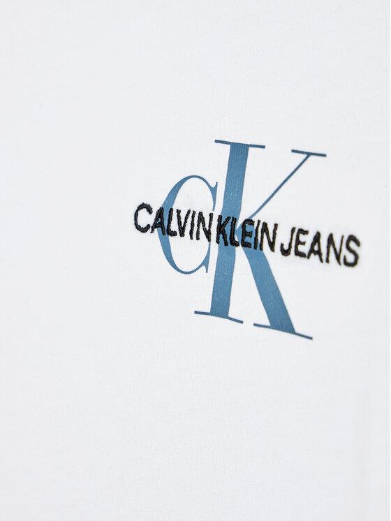 Calvin Klein Jeans Calvin Klein Jeans T-Shirt Chest Monoogram IB0IB00612 Biały Regular Fit