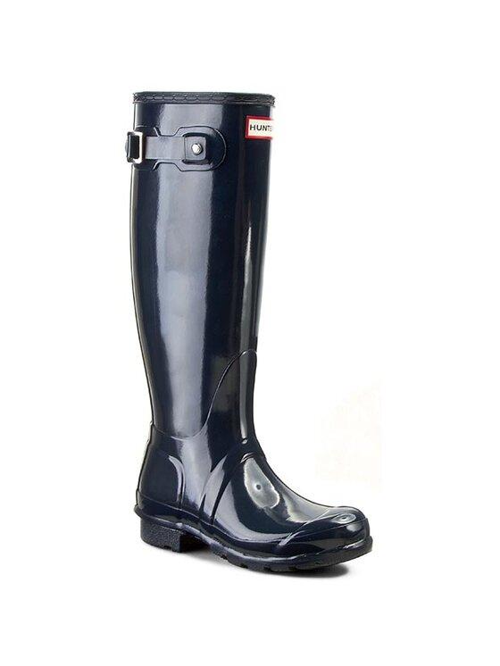 Hunter Guminiai batai Original Tall Gloss WFT1000RGL Tamsiai mėlyna