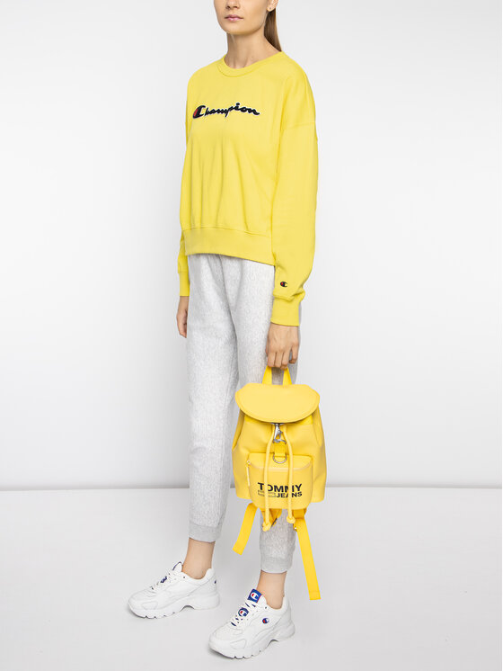 Champion Champion Μπλούζα 111384 Κίτρινο Oversize
