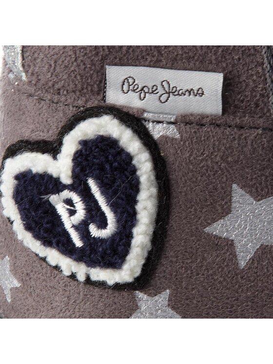 Pepe Jeans Pepe Jeans Buty Angel Stars PGS50132 Szary