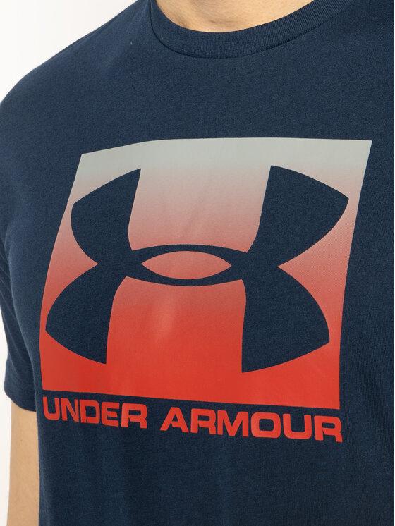 Under Armour Under Armour Póló Ua Boxed Sportstyle 1329581 Sötétkék Loose Fit