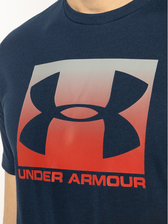 Under Armour Under Armour T-Shirt Ua Boxed Sportstyle 1329581 Tmavomodrá Loose Fit