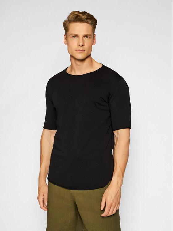 Imperial Marškinėliai TB92BCLL Juoda Regular Fit