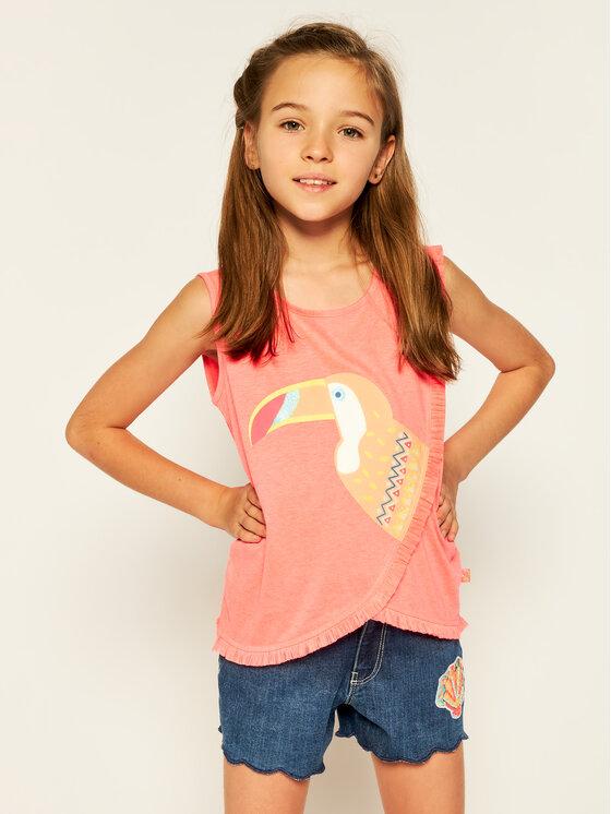Billieblush Marškinėliai U15709 Rožinė Regular Fit