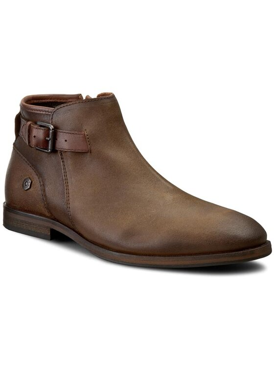 Tommy Hilfiger Tommy Hilfiger Обувки DENIM Jack 3C EM56822052 Кафяв
