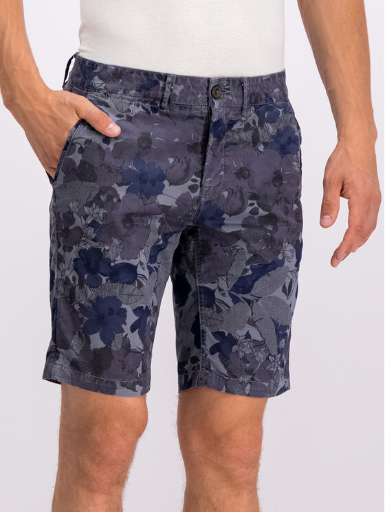 Pepe Jeans Pepe Jeans Stoffshorts PM800741 Grau Slim Fit