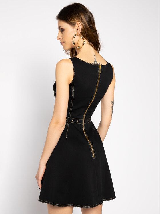 Versace Jeans Couture Versace Jeans Couture Дънкова рокля D2HVA40I Черен Regular Fit