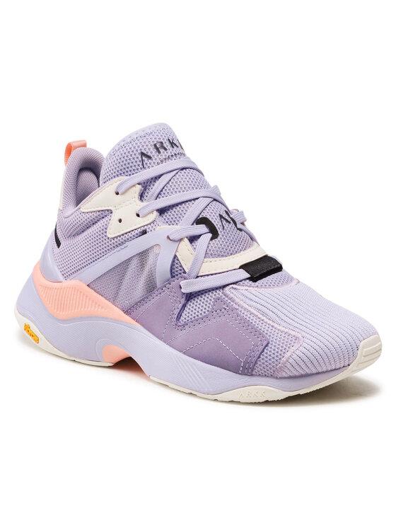 ARKK Copenhagen Laisvalaikio batai Cruisr Mesh Vulkn Vibram TE5402-0308-W Violetinė