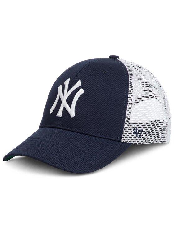47 Brand Kepurė su snapeliu New York Yankees B-BRANS17CTP-NY Tamsiai mėlyna