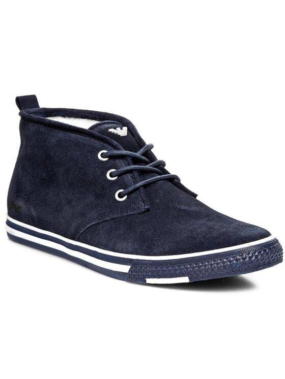 Armani Jeans Armani Jeans Обувки A6546 51 Y5 Син