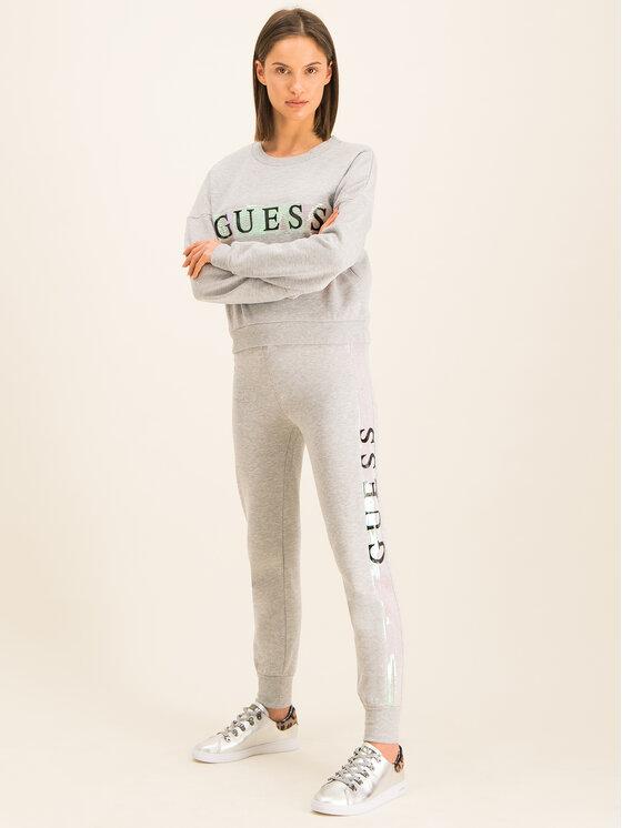 Guess Guess Pantalon jogging O94A27 FL01I Gris Regular Fit