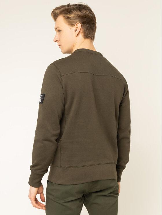 Calvin Klein Jeans Calvin Klein Jeans Μπλούζα Monogram J30J314035 Πράσινο Regular Fit